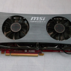 MSI GeForce GTX 260 Twin Frozr OC 896MB DDR3 448-bit Gaming Dual Dvi - Placa video PC Msi, PCI Express, 1 GB, nVidia