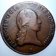 E.015 AUSTRIA FRANZ II 3 KREUZER 1799 B - Moneda Medievala, Europa