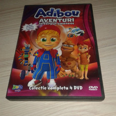 Adibou - Aventuri in corpul omenesc - Desene Animate Educative - Film animatie Altele, DVD, Romana