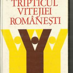 TRIPTICUL VITEJIEI ROMANESTI - F.ARGESANU, C.UCRAIN - Carte poezie