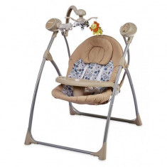 Leagan electric Baby Mix SW102002 Latte - Balansoar interior