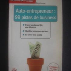 ESTELLE LEVRESSE - AUTO-ENTREPRENEUR * 99 PISTES DE BUSINESS - Carte Marketing