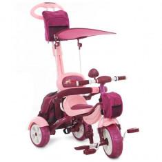 Tricicleta Pentru Copii MyKids Happy Trip KR03B Roz - Tricicleta copii