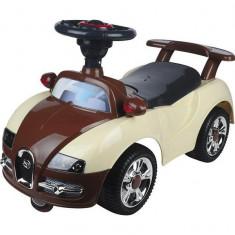 Masinuta de impins pentru copii Baby Mix UR-7628 Brown Beige - Vehicul
