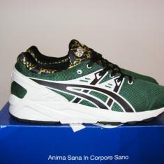 Adidasi Asics Tiger Mens Gel Kayano Trainers Evo Dark Olive nr. 44 - Adidasi barbati Asics, Culoare: Din imagine, Textil