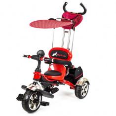 Tricicleta Pentru Copii MyKids Luxury KR01 Rosu - Tricicleta copii