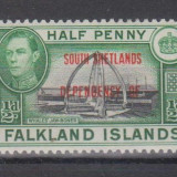 INSULELE FALKLAND - SOUTH SHETLANDS, 1944, nestampilat, MNH (GB1)