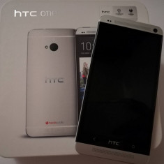 HTC One M7 ca nou - Telefon mobil HTC One, Argintiu, 32GB, Neblocat, Single SIM