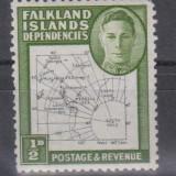 INSULELE FALKLAND, 1946, nestampilat, MNH (GB1)