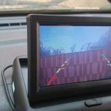 Ecran color tv display 4.3 inch 10 cm NOU pt Camera spate marsarier la 12v - Camera mers inapoi
