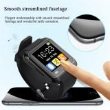Ceas Inteligent U8S Negru Functie Selfie Android Smartwatch Nou in Cutie - Selfie stick