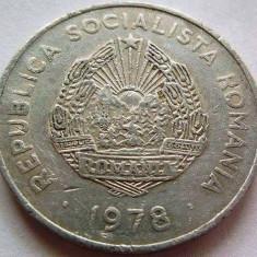 Moneda 5 Lei - RS Romania, anul 1978 *cod 3712 Allu-circulata - Moneda Romania, Aluminiu