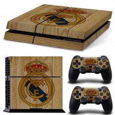 Skin / Sticker Real Madrid Playstation 4 PS4 + 2 Skin controller PS4