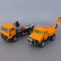 Camion Mercedes + Unimog U1500, Siku - Macheta auto Siku, 1:55