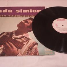 DISC VINIL RADU SIMION NAI VOL II TRESORS FOLKLORIQUES ROUMAINS RARITATE!!!! - Muzica Lautareasca