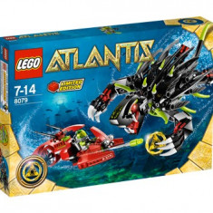 LEGO - Atlantis Shadow Snapper #8079 ( BONUS: Manta Warrior #8073 ), 10-14 ani