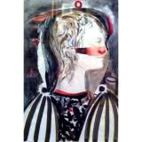 MihaiRusu - Personaj - Pictor roman, Portrete, Acrilic, Abstract