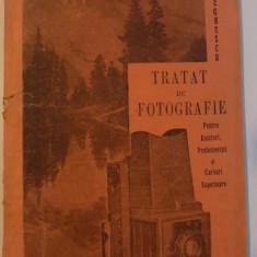 TRATAT DE FOTOGRAFIE PENTRU AMATORI, PROFESIONISTI SI CURSURI SUPERIOARE, 1929