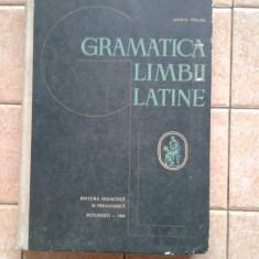 Gramatica limbii latine didactica si pedagogica