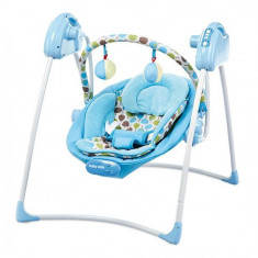 Leagan electric Baby Mix SW108007 Blue - Balansoar interior