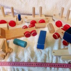 Lot de jucarii de lemn lot 1 - Jocuri Seturi constructie