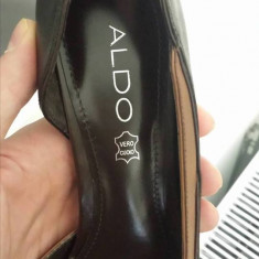 Pantofi dama Aldo - Pantof dama Aldo, Culoare: Maro, Marime: 38, Piele naturala