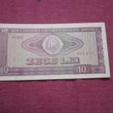 Bacnota 10 lei ca noua - Bancnota romaneasca, An: 1966