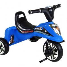 Tricicleta pentru copii MyKids Titan albastra - Tricicleta copii