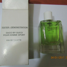 TESTER GUCCI BY GUCCI SPORT 90 ML--SUPER PRET, SUPER CALITATE! - Parfum barbati Gucci, Apa de toaleta