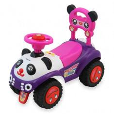 Masinuta de impins copii Baby Mix Panda ZDX7601 Pink - Vehicul