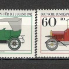 Berlin.1982 Pentru tineret-Automobile de epoca CB.281 - Timbre straine, Nestampilat
