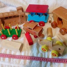 Lot de jucarii de lemn lot 2 - Jocuri Seturi constructie