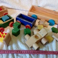 Lot de jucarii de lemn lot 3 - Jocuri Seturi constructie