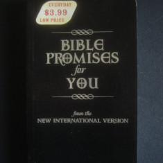 BIBLE PROMISES FOR YOU FROM THE NEW INTERNATIONAL VERSION - Biblia