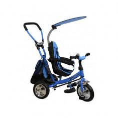 Tricicleta copii cu Scaun Reversibil Baby Mix Safari WS611 Albastru