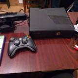 XBox360, 2 buc.controler, kinect, 3 jocuri. - Xbox 360 Microsoft