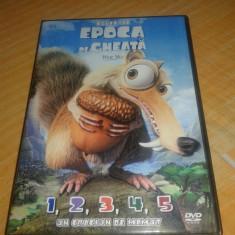 Epoca de Gheata - Ice Age - 6 DVD Desene Animate Dublate Romana, dream works
