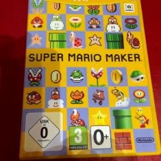 Super Mario Maker Wii U joc original Nintendo Wii U - Jocuri WII U
