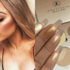 Trusa iluminatoare Kit highlight & bronzer Anastasia That Glow Kit - Pudra, Compacta