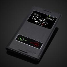 Husa piele s view HTC Desire 816 - Husa Telefon, Negru
