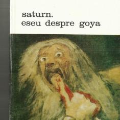 SATURN ESEU DESPRE GOYA - ANDRE MALRAUX - Carte poezie