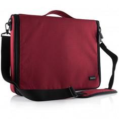 Geanta laptop Modecom Torino Red 15.6 inch, Geanta de umar, Nailon, Rosu