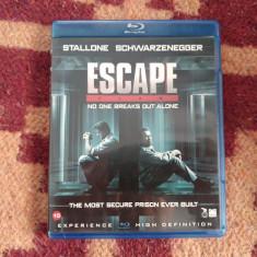 Film ESCAPE PLAN Blu Ray Stallone si Arnlod Blu-Ray disc la pret de DVD - Film thriller Altele, Altele