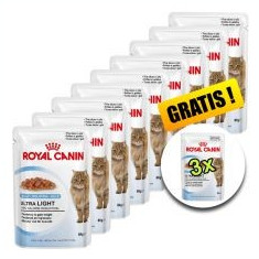 Royal Canin Ultra Light in Jelly 85g - 9+3 buc GRATUIT - Hrana pisici