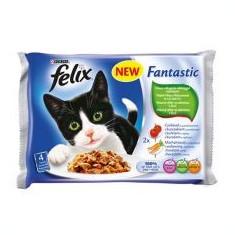FELIX hrană pentru pisici în ambalaj de aluminiu - carne și legume în jeleu, 400 g - Hrana pisici