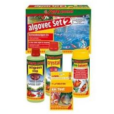 Sera pond algovec Set 2 - set de pregătire pentru îndepărtarea algelor