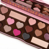 Trusa machiaj farduri profesionala too Faced Chocolate Bon Bons 14 culori