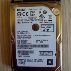 HDD HGST - 1TB - 7200 rpm (pentru laptop) - Hard Disk