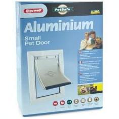 Uși pentru câini și pisici -aluminiu, mici