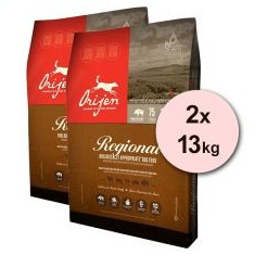 Orijen Regional Red Dog 2 x 13 kg - Hrana caini